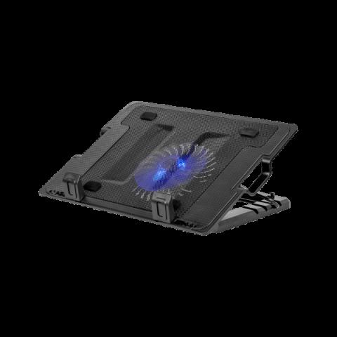 "Rebel Βάση με Ανεμιστήρα γιά Laptop 14-17"" (Μαύρο)"