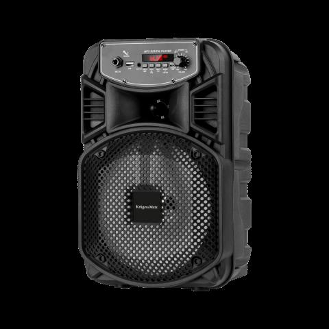 Kruger&Matz Φορητό ηχείο bluetooth, USB, FM Radio, μαύρο KM0555