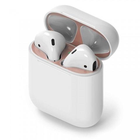 Ringke Dust Guard αυτοκόλλητο Ροζ για θήκη για Apple AirPods