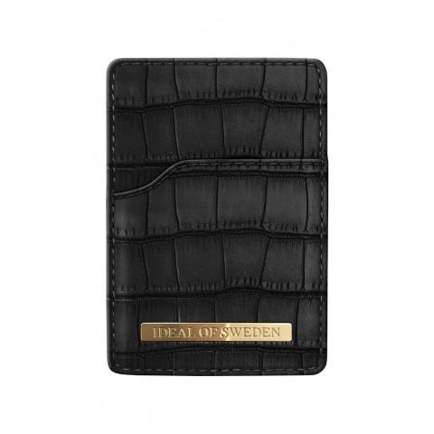 IDEAL OF SWEDEN Universal Magnetic Card Holder Mono Black Capri IDMCH-CAP-01