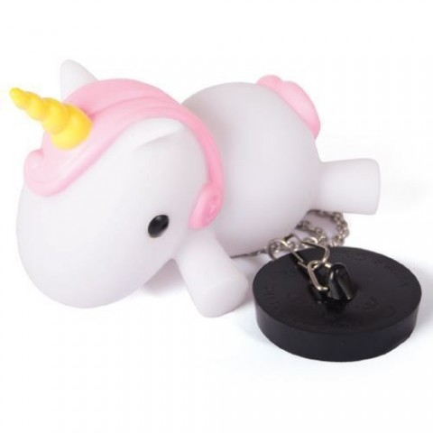 FIZZ Unicorn Light Up Bath Plug 1333
