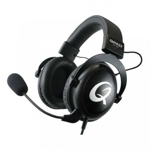 QPAD®|QH-95 High End Stereo and 7.1 USB Gaming Ακουστικά Closed Ear, Noise Cancelling detachable Microphone, 9J.H3593.H95