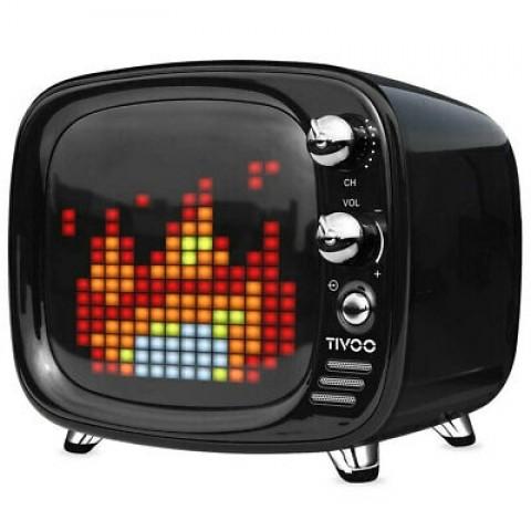 Divoom Tivoo Retro Mini Bluetooth Ηχείο Με Γραφικά Black DV-TIVOO-BK