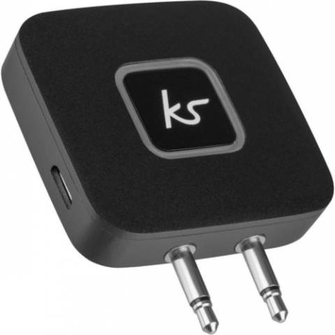 KITSOUND Wireless Airline Adaptor KSBTAPBK