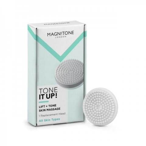 MAGNITONE BareFaced 2 Tone it Up! Massaging Brush Head - 1 Pack MLB03
