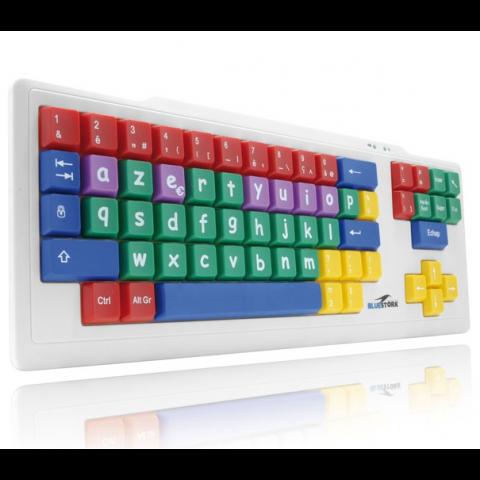 BLUESTORK παιδικό πληκτρολόγιο AZERTY με γαλλική διάταξη πληκτρων