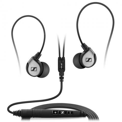SENNHEISER Ακουστικά Ψείρες με Μικρόφωνο Travel Ασημί MM80I TRAVEL