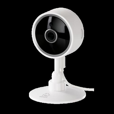 Deltaco Smart Home Indoor IP Camera, 2.4GHz, 1080p,White SH-IPC02