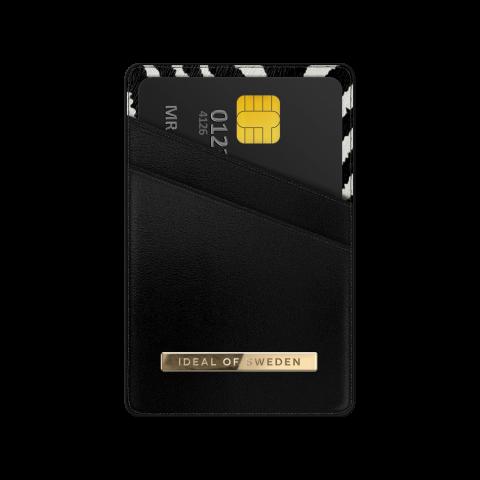 IDEAL OF SWEDEN Universal Magnetic Card Holder Atelier Zebra Eclipse IDMCH-247
