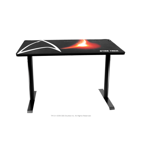 Arozzi Gaming γραφείο 114x72.5x72cm ARENA-LEGG-ST-BK Star Trek edition