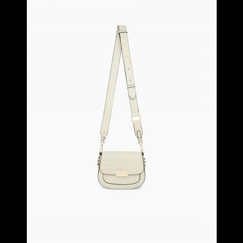 IDEAL OF SWEDEN Ima Saddle Bag Universal Cream Beige Croco IDISBSS21-275