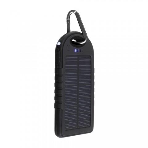 LIVOO powerbank ηλιακής ενέργειας μαύρο TEA139N