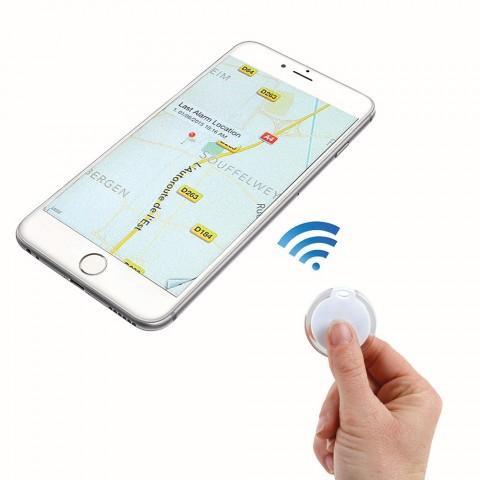 LIVOO συσκευή εύρεσης smartphone άσπρο TEA183W