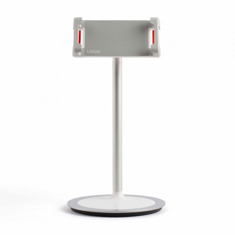 LIVOO stand για smartphone και tablet TEA227 White/Silver