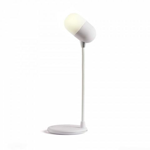 LIVOO 3 in 1 LED φωτιστικό γραφείου με ασύρματη φόρτιση TEA240