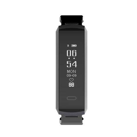 Oaxis TENVIS HR LITE Smart Band με Heart Rate Μαύρο HB3102SA-BK01