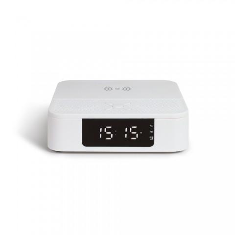 LIVOO ασύρματο ξυπνητήρι/ηχείο 10w TES235