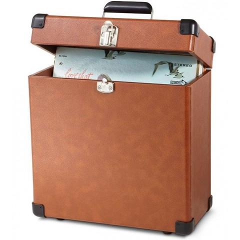 CROSLEY Record Carrier Case - Tan SF0003AC-CC