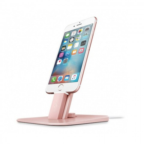 TWELVE SOUTH HiRise Deluxe Desktop Stand για iPhone, iPad mini, iPod touch, rose-gold 12-1516
