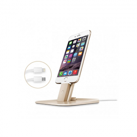 TWELVE SOUTH HiRise Deluxe Desktop Stand για iPhone, iPad mini, iPod touch Χρυσό 12-1436