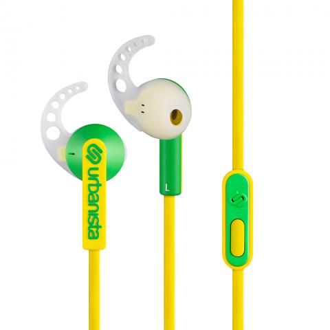 URBANISTA Ψείρες Sport Ακουστικά RIO Mellow Κίτρινο 1032809