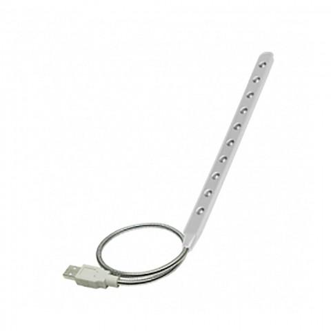 VAKOSS Λάμπα ανάγνωσης USB Λευκό LC-7013W