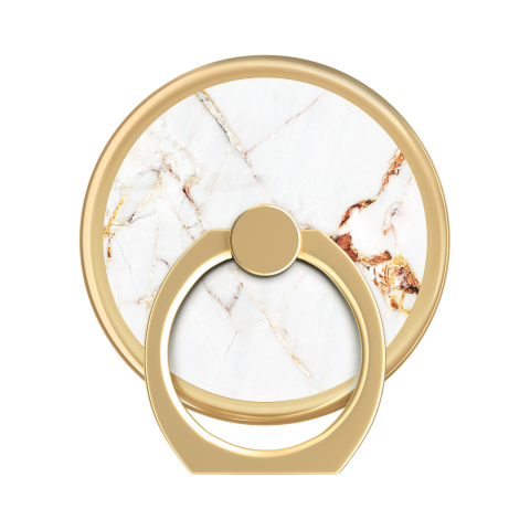 IDEAL OF SWEDEN Universal Magnetic Ring Mount Print Carrara Gold Marble IDMRM-46