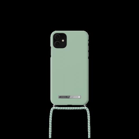 IDEAL OF SWEDEN θήκη λαιμού για iPhone 11/XR Spring Mint IDPNSS21-I1961-266