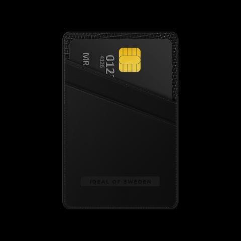 IDEAL OF SWEDEN Universal Magnetic Card Holder Atelier Eagle Black IDMCH-229