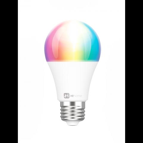 Hihome Smart LED WiFi Bulb Gen.2 RGB 16M Colors + Warm White 2700K to Cool White 6500K WAL-RGBCCT27