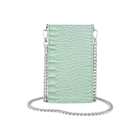 IDEAL OF SWEDEN τσαντάκι universal Ella Phone Pouch Mint Croco IDPPSS21-261