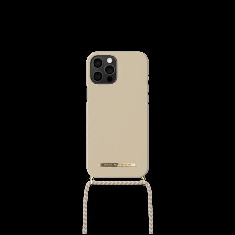 IDEAL OF SWEDEN θήκη λαιμού για iPhone 12 Pro Max Creme Beige IDPNSS21-I2067-299