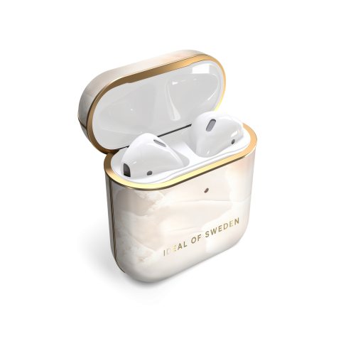 IDEAL OF SWEDEN θήκη για Airpods για 1st & 2nd Generation Rose Pearl Marble IDFAPCSS21-257