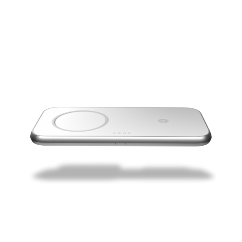 ZENS Aluminium 3 - 1 Wireless Charger with 45W USD PD Designed for Magsafe ZEDC16W/00