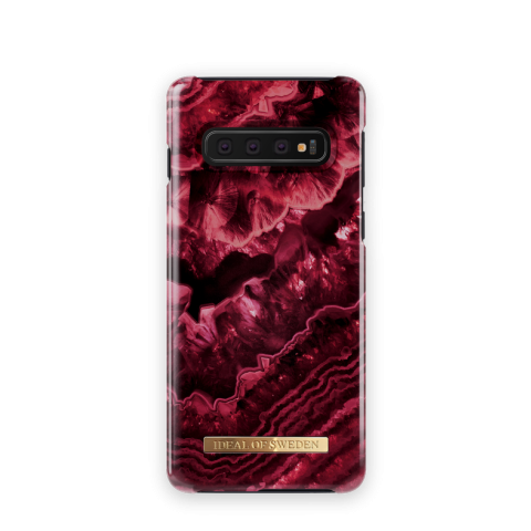 IDEAL OF SWEDEN Θήκη Fashion Samsung Galaxy S10 Claret Agate IDFCDC19-S10-179