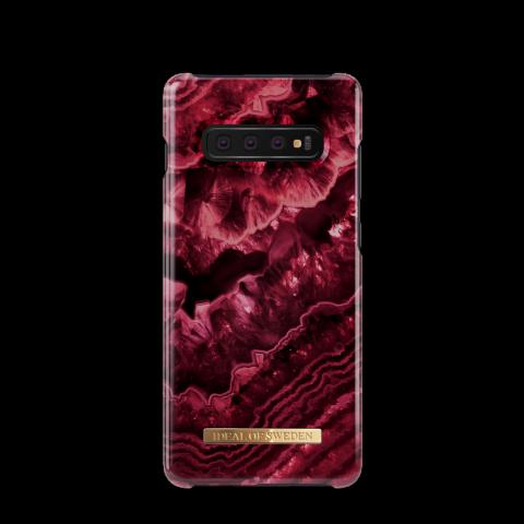 IDEAL OF SWEDEN Θήκη Fashion Samsung Galaxy S10+ Claret Agate IDFCDC19-S10P-179
