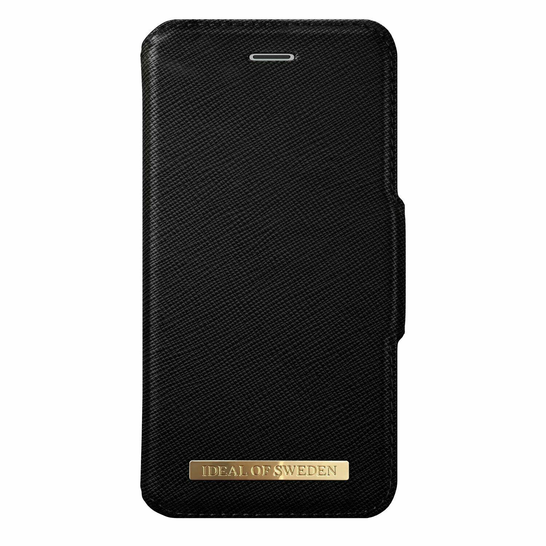 iDEAL Θήκη iPhone XR Fashion Wallet Black Saffiano