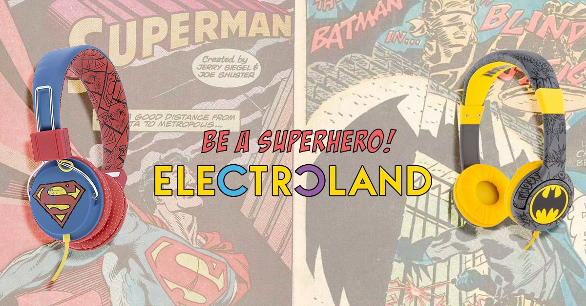 Superhero Headphones